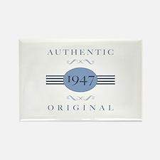 Authentic Original 1947 Rectangle Magnet