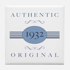 Authentic Original 1932 Tile Coaster