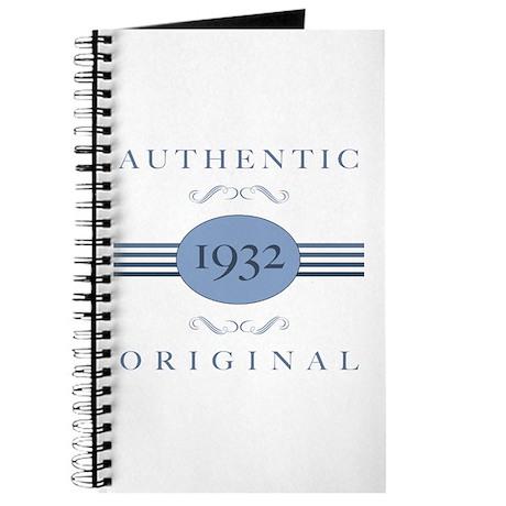 Authentic Original 1932 Journal