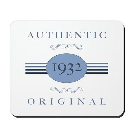 Authentic Original 1932 Mousepad