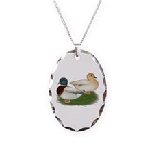 Pastel Call Ducks Necklace