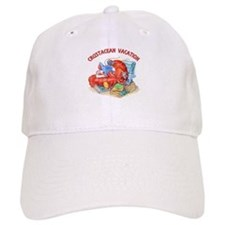 Crustacean Vacation Lobster Baseball Cap