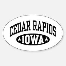 Cedar Rapids Iowa Decal