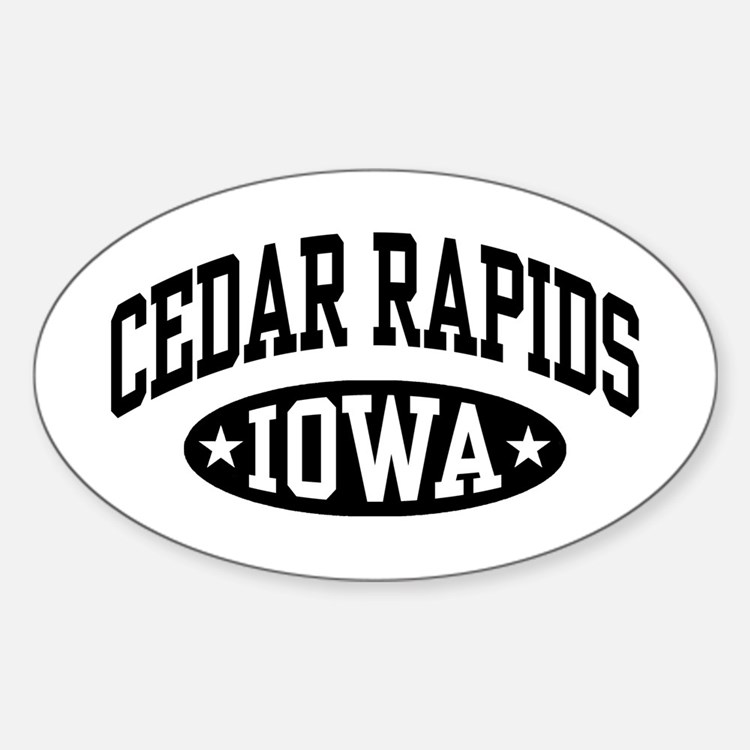 Cedar Rapids Iowa Decal