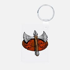 Viking Shield & Battle Ax Keychains