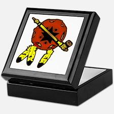 Shield & Tobacco Pipe Keepsake Box
