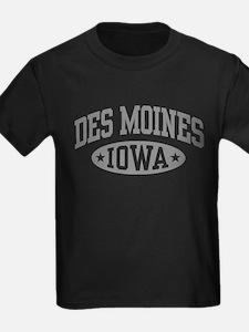 Des Moines Iowa T