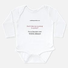 Cute Nursing public Long Sleeve Infant Bodysuit