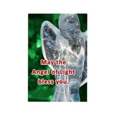 Angel of Light Blessing Rectangle Magnet