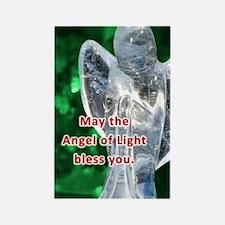 Angel of Light Blessing Rectangle Magnet