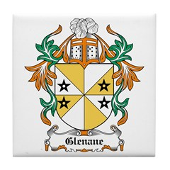Glennon Coat of Arms Tile Coaster