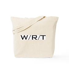 W/R/T Tote Bag