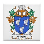 Gibson Coat of Arms Tile Coaster