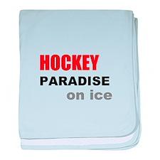 Paradise on Ice baby blanket