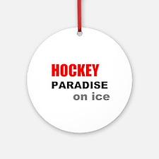 Paradise on Ice Ornament (Round)
