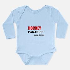 Paradise on Ice Long Sleeve Infant Bodysuit