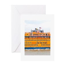 NYC: Staten Island Ferry Greeting Card