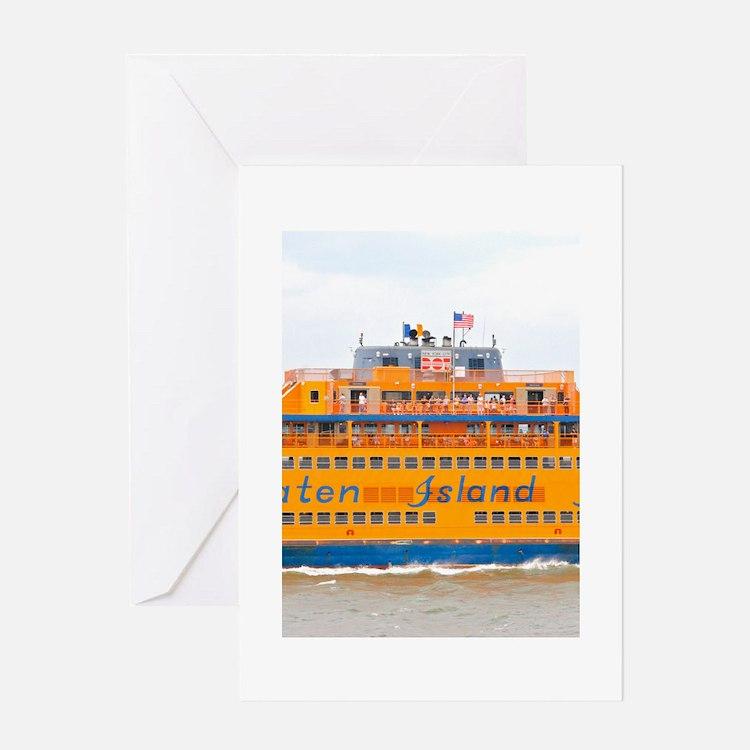 NYC: Staten Island Ferry Greeting Card