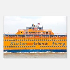 NYC: Staten Island Ferry Postcards (Package of 8)