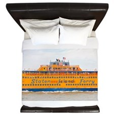 NYC: Staten Island Ferry King Duvet