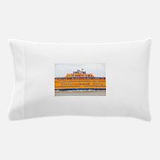 NYC: Staten Island Ferry Pillow Case