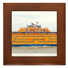 NYC: Staten Island Ferry Framed Tile