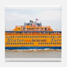 NYC: Staten Island Ferry Tile Coaster