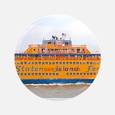 "NYC: Staten Island Ferry 3.5"" Button"