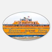 NYC: Staten Island Ferry Sticker (Oval)