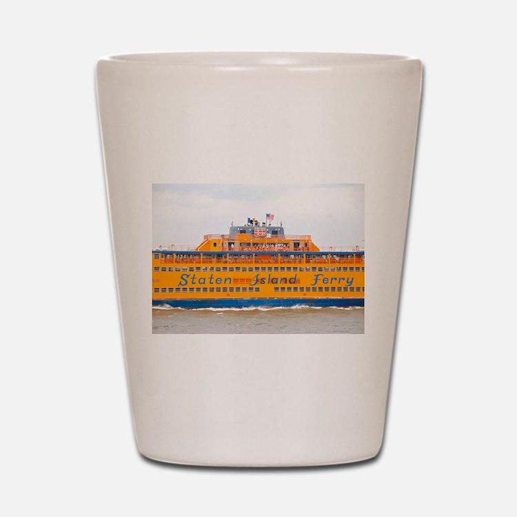 NYC: Staten Island Ferry Shot Glass