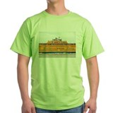Staten island ferry Green T-Shirt