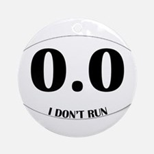 Anti-Marathon Sticker Ornament (Round)