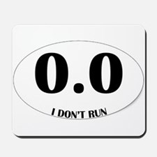 Anti-Marathon Sticker Mousepad