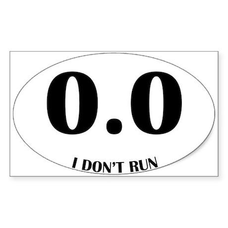 Anti-Marathon Sticker Sticker (Rectangle)