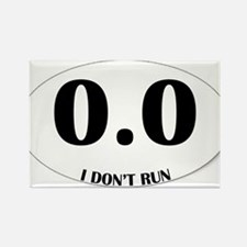 Anti-Marathon Sticker Rectangle Magnet