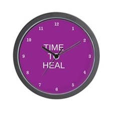 Time to Heal (purple) Wall Clock