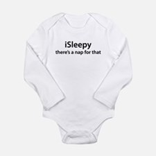 iSleepy Long Sleeve Infant Bodysuit