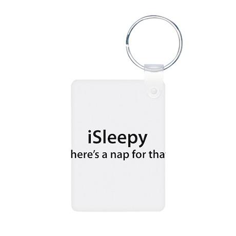 iSleepy Aluminum Photo Keychain