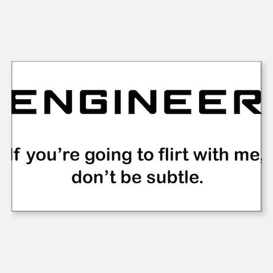 Engineer Sticker (Rectangle)