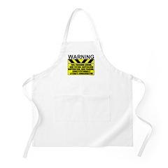 Evil Conservative Warning BBQ Apron