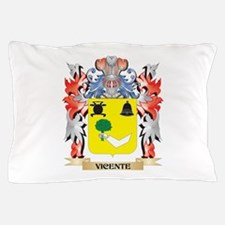 Vicente Coat of Arms - Family Crest Pillow Case