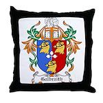 Galbraith Coat of Arms Throw Pillow