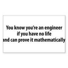 You're An Engineer Decal