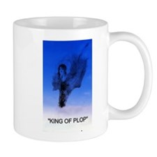 king of plop with text Mug