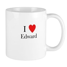 i love Edward heart Mug