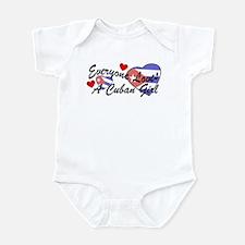 Everyone Loves a Cuban Girl Infant Creeper