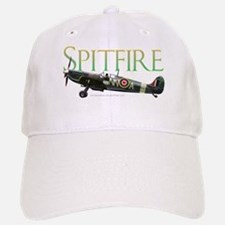 Beautiful Spitfire graphic on Baseball Baseball Cap