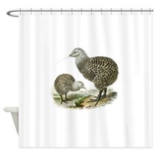 Great Spotted Kiwi - Apteryx haasti Shower Curtain