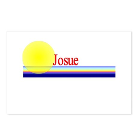 Josue Postcards (Package of 8)
