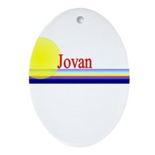 Jovan Oval Ornament